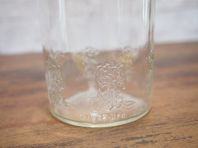 スヌーピー グラスの下部刻印