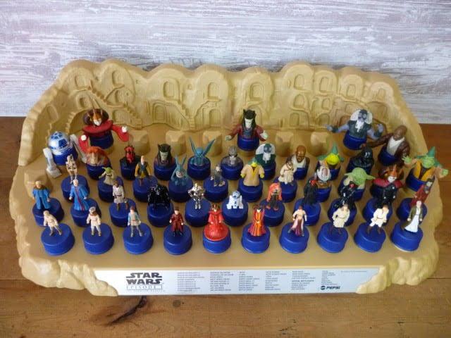 スペシャルボトルキャップ6個が不足しているコレクションステージ