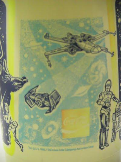 スターウォーズ×コカコーラのピッチャー(水差し)のイラスト部分の写真