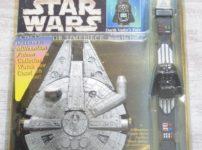 STAR WARS コレクタータイムピース ダースベイダー・フェイスウォッチ&ミレニアムファルコン・ケース