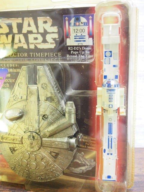 スター ・ウォーズ Collector Timepiece R2-D2のパッケージ表側右