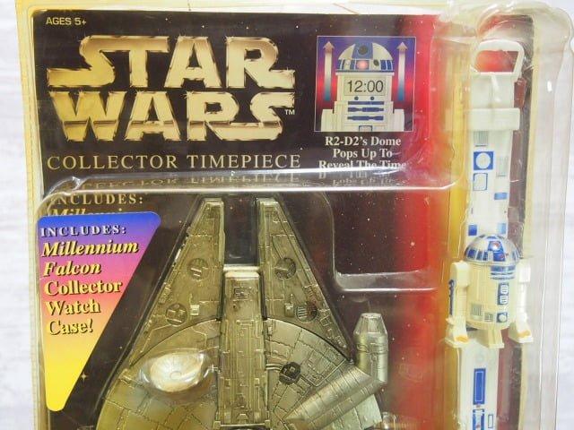スター ・ウォーズ Collector Timepiece R2-D2のパッケージ表側上部
