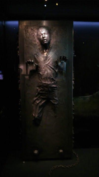 ハンソロ 冷凍 – 「スター・ウォーズ アイデンティティーズ:東京」