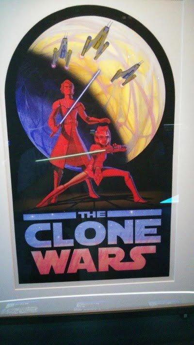 クローン・ウォーズのポスター – 「スター・ウォーズ アイデンティティーズ:東京」