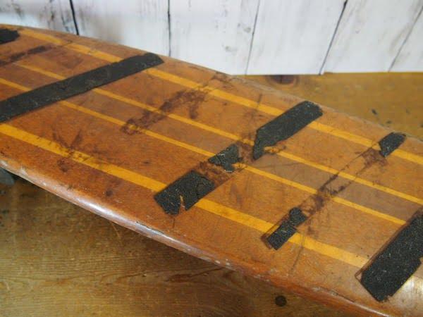 ウッドスケートボードのデッキ