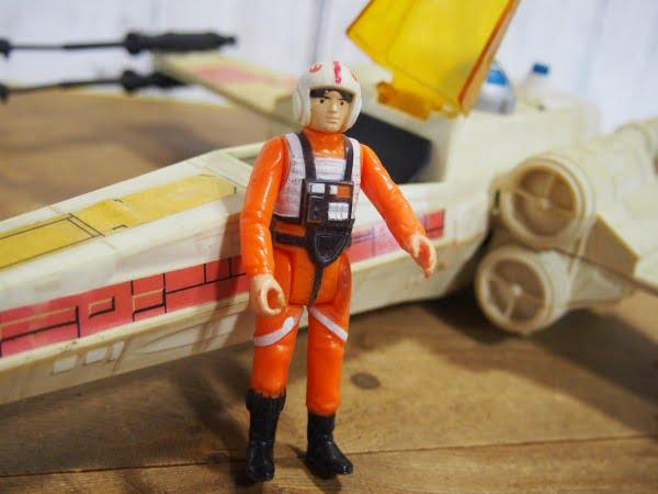 Xウイング・ファイター(Kenner製 1978年)のパイロット